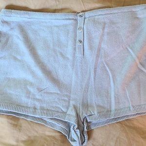 Victoria's Secret cashmere shorts